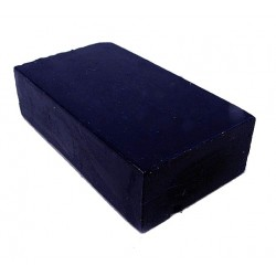 Encaustic wasblokje 18 Pruisisch blauw