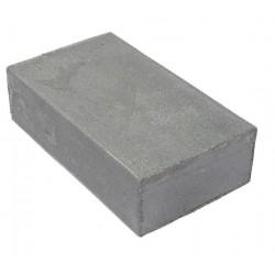 Encaustic wasblokje 26 metallic zilver