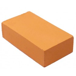 Encaustic wasblokje 30 pastel oranje