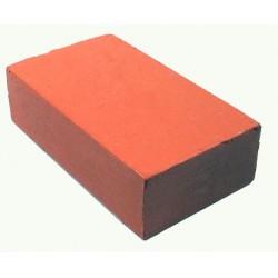 Encaustic wasblokje 34 pastel koraalrood