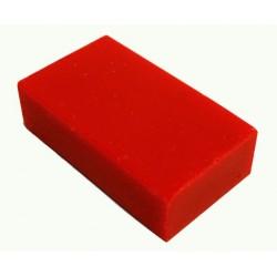 Encaustic wasblokje 36 neon rood