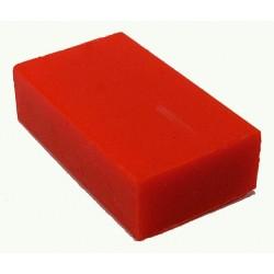 Encaustic wasblokje 38 neon oranje