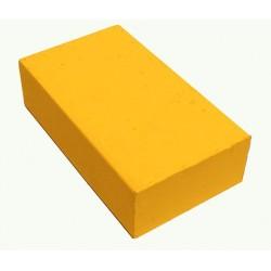 Encaustic wasblokje 39 neon geel
