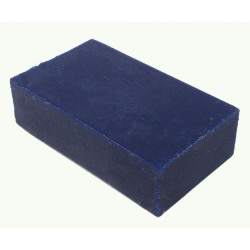 Encaustic wasblokje 41 neon blauw