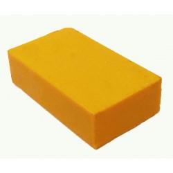 Encaustic wasblokje 44 geel mixer