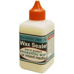 Encaustic wax sealer