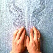 Touch drawing: Laat je ziel spreken. Winterretreate